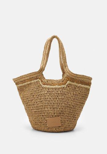 RILEY  - Tote bag - camel
