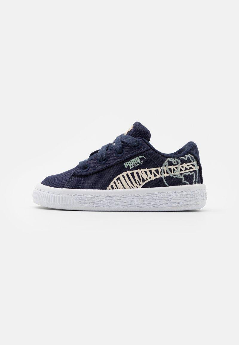 Puma - BASKET T4C UNISEX - Sneakers laag - navy