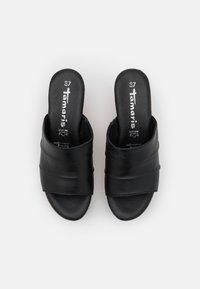 Tamaris - Heeled mules - black - 5