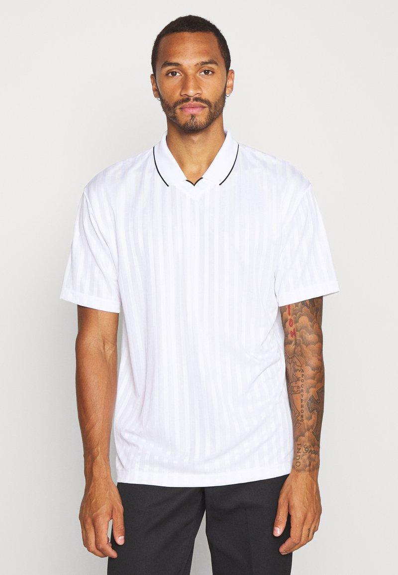 Topman - Print T-shirt - white