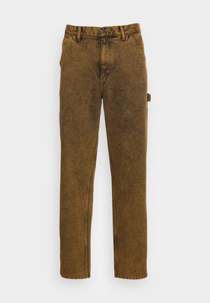 SINGLE KNEE PANT ALLENDALE - Džíny Straight Fit - tawny crater wash