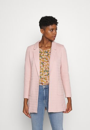 ONLBAKER LINEA COATIGAN - Blazer - rose smoke