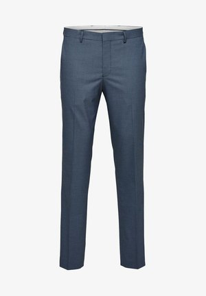 SELECTED HOMME ANZUGHOSE - Jakkesæt bukser - ashley blue
