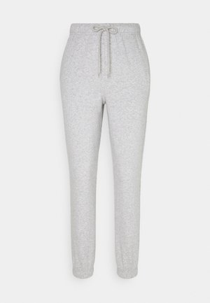 PCCHILLI - Tracksuit bottoms - light grey melange