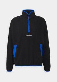 adidas Originals - ADIDAS ADVENTURE POLAR FLEECE HALF-ZIP SWEATSHIRT - Forro polar - black - 6