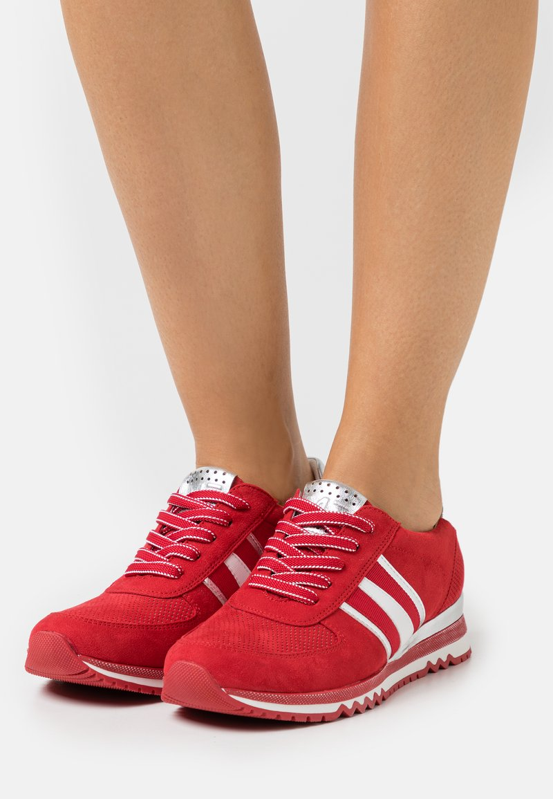 Marco Tozzi - LACE UP - Trainers - red