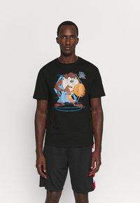 Outerstuff - SPACE JAM TECH SPINE TEE - Print T-shirt - black - 0