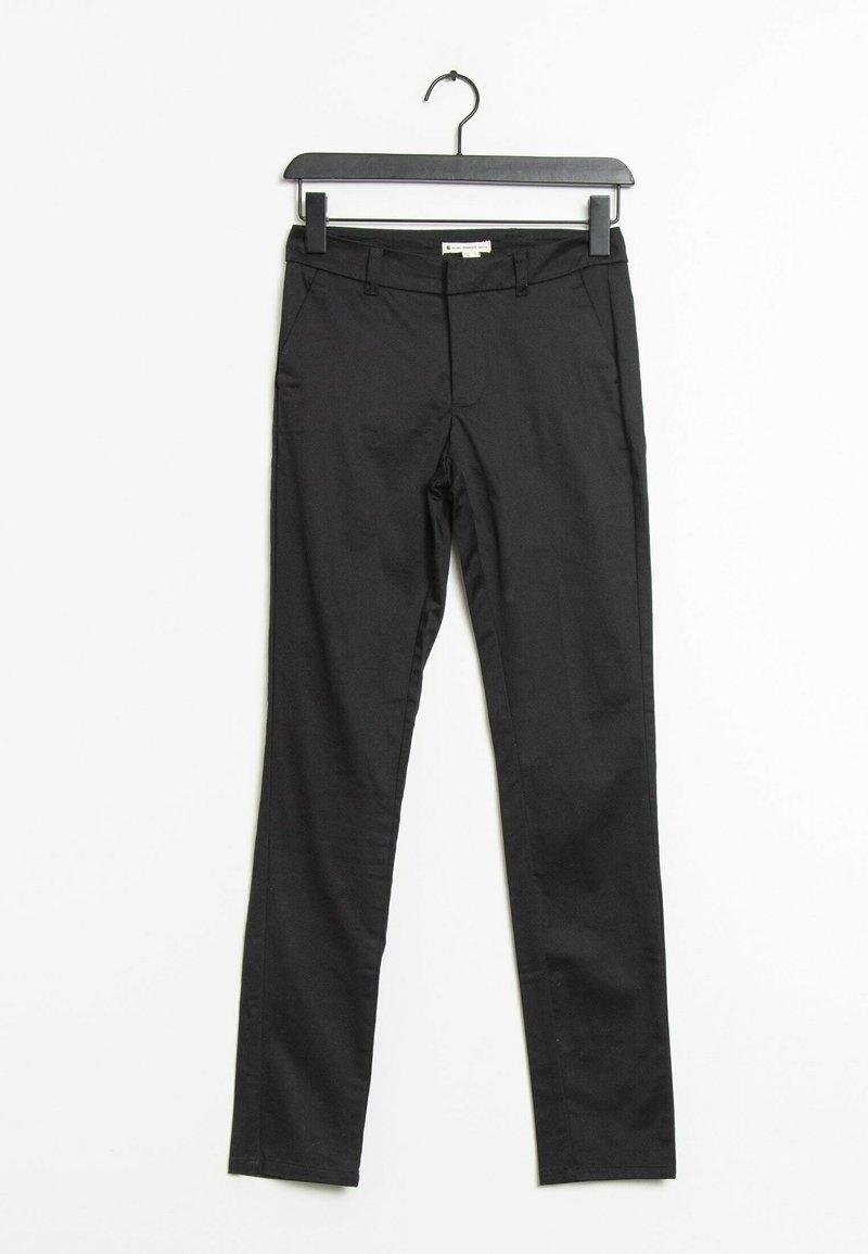 Mango - Trousers - black