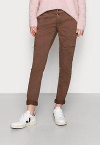 Mos Mosh - VALERINE PANT - Trousers - carafe - 0
