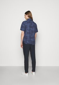 120% Lino - SHORT SLEEVE REGULAR FIT - Camicia - blue navy - 2