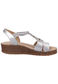 Jenny - Wedge sandals - gray - 6