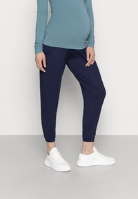 Dorothy Perkins Maternity - OVER BUMP JOGGER - Tracksuit bottoms - navy - 0