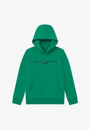ESSENTIAL HOODIE UNISEX - Jersey con capucha - green