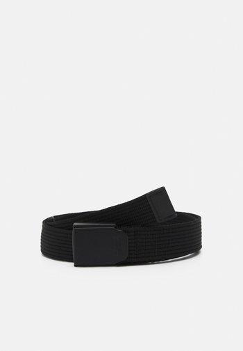 PLAQUE BELT - Belt - black