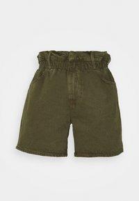 Frame Denim - ELASTIC WAIST - Shorts - washed moss - 0