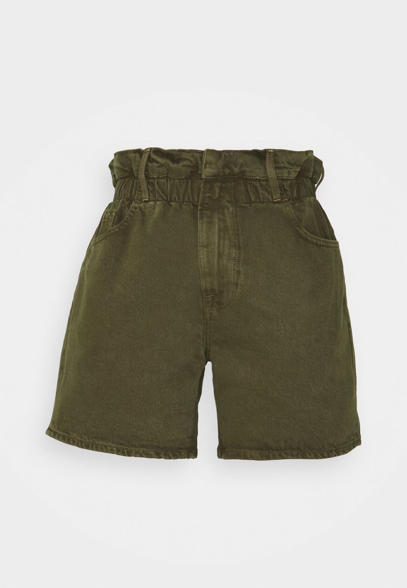 Frame Denim - ELASTIC WAIST - Shorts - washed moss
