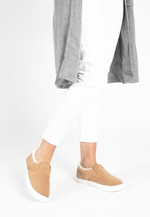 Trainers - light brown
