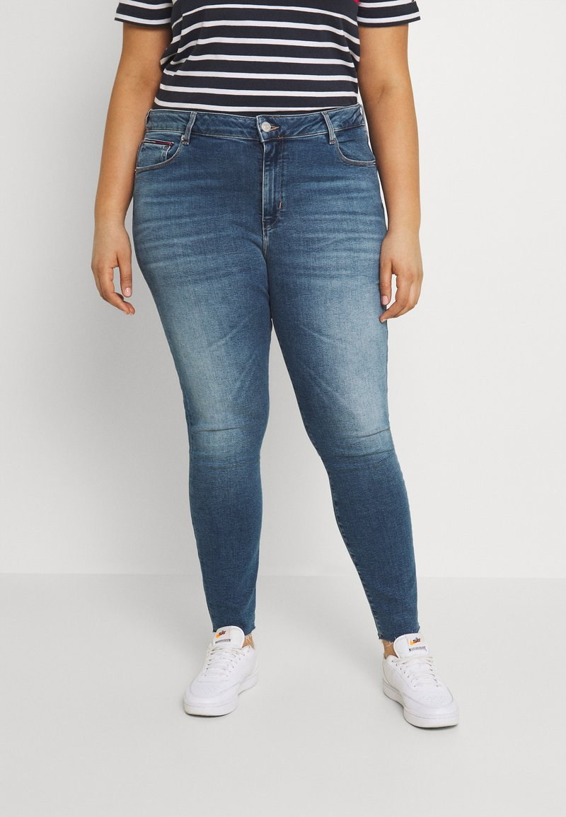 Tommy Jeans Curve - SYLVIA - Skinny-Farkut - dark blue