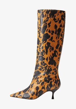 CALDI - Vysoká obuv - brązowy