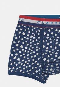 Claesen's - BOYS TIGER 2 PACK - Boxerky - dark blue - 3