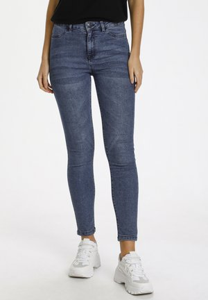TINNASZ - Jeans Skinny Fit - med.blue