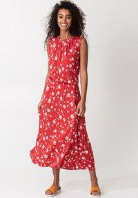 Indiska - KARLA - Day dress - red - 1