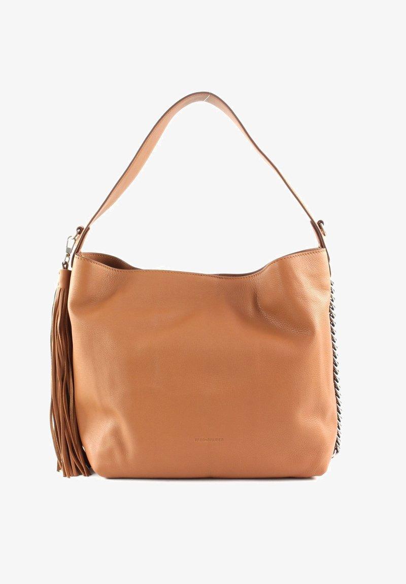 FREDsBRUDER - SOFT ALA - Handbag - dark camel