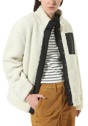 WM EMBERS JACKET - Fleecejacke - marshmallow
