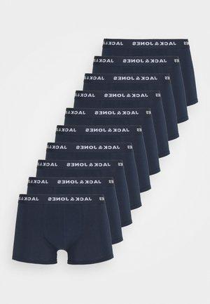 JACSOLID TRUNKS 10 PACK - Underkläder - navy blazer