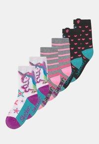 Skechers - GIRLS UNICORN 6 PACK - Calcetines - white - 0