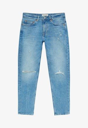 MIT RISSEN - Slim fit jeans - royal blue