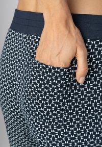mey - SCHLAFHOSE SERIE NIGHT2DAY - Pyjama bottoms - night blue - 3