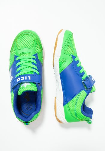 SPORT - Trainers - grün/blau