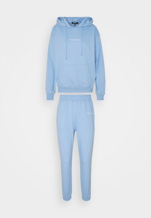 HOODY JOGGER SET - Hoodie - blue