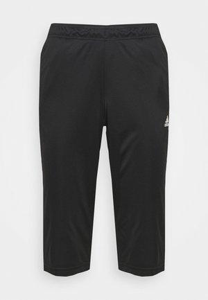 TIRO - 3/4 sports trousers - black