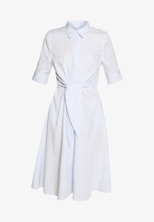 BROADCLOTH DRESS - Sukienka koszulowa - blue/white