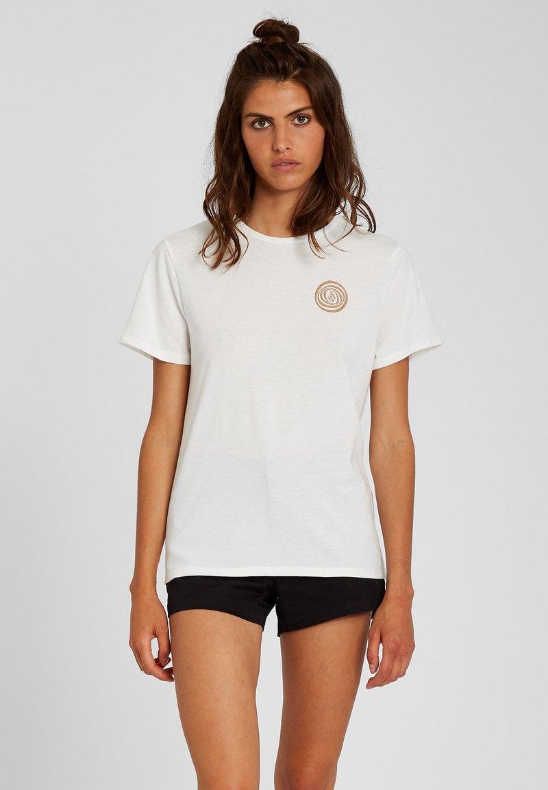 Volcom - 30 YEAR TEE - Print T-shirt - star_white