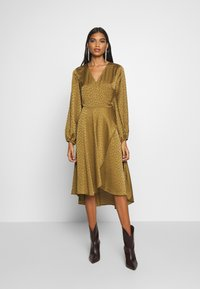 Samsøe Samsøe - VENETA DRESS - Day dress - khaki - 1