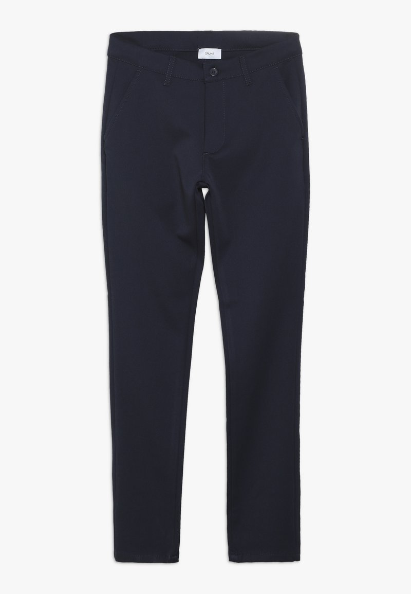 Grunt - DUDE PANT - Suit trousers - midnight blue
