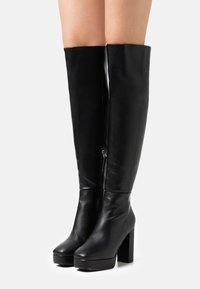 RAID Wide Fit - WIDE FIT CAROLINA - Over-the-knee boots - black - 0