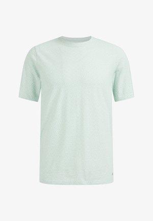 Camiseta básica - mint green