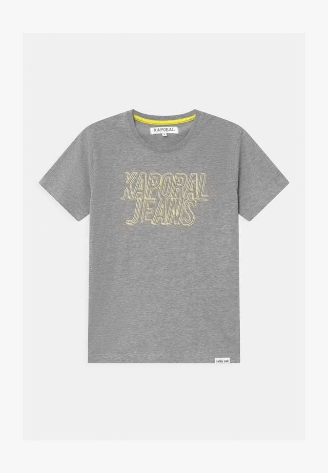 MAIL LOGO  - T-shirt imprimé - grey