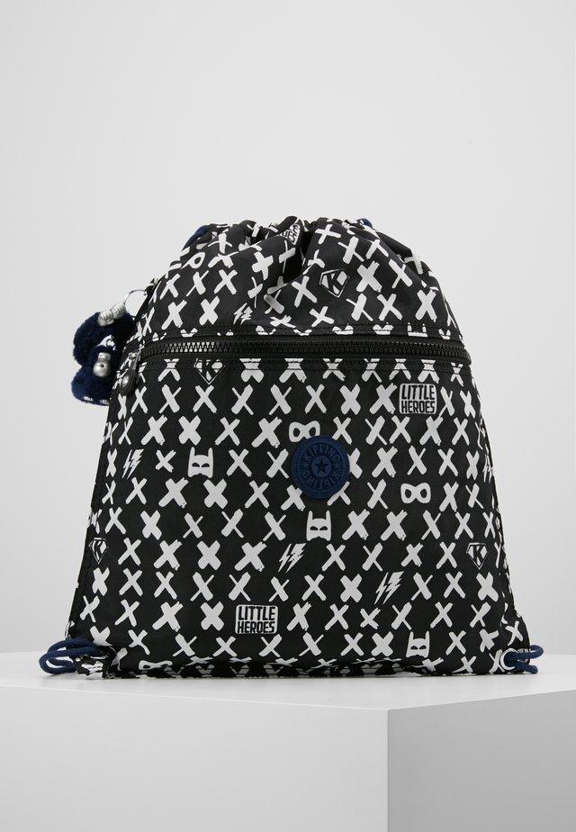 SUPERTABOO - Drawstring sports bag - boy hero