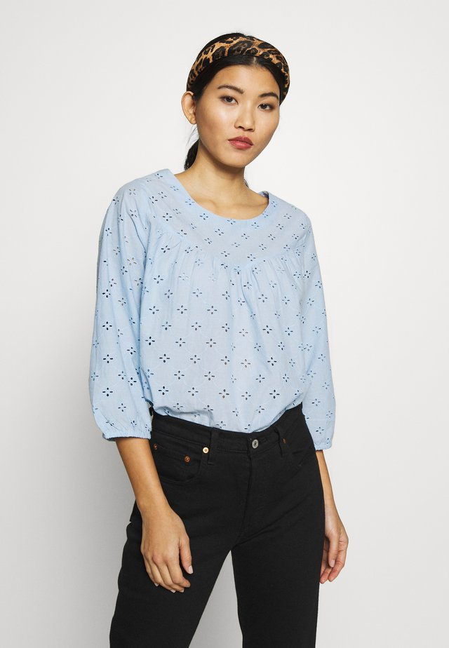UMAY BLOUSE - Bluser - chambray blue