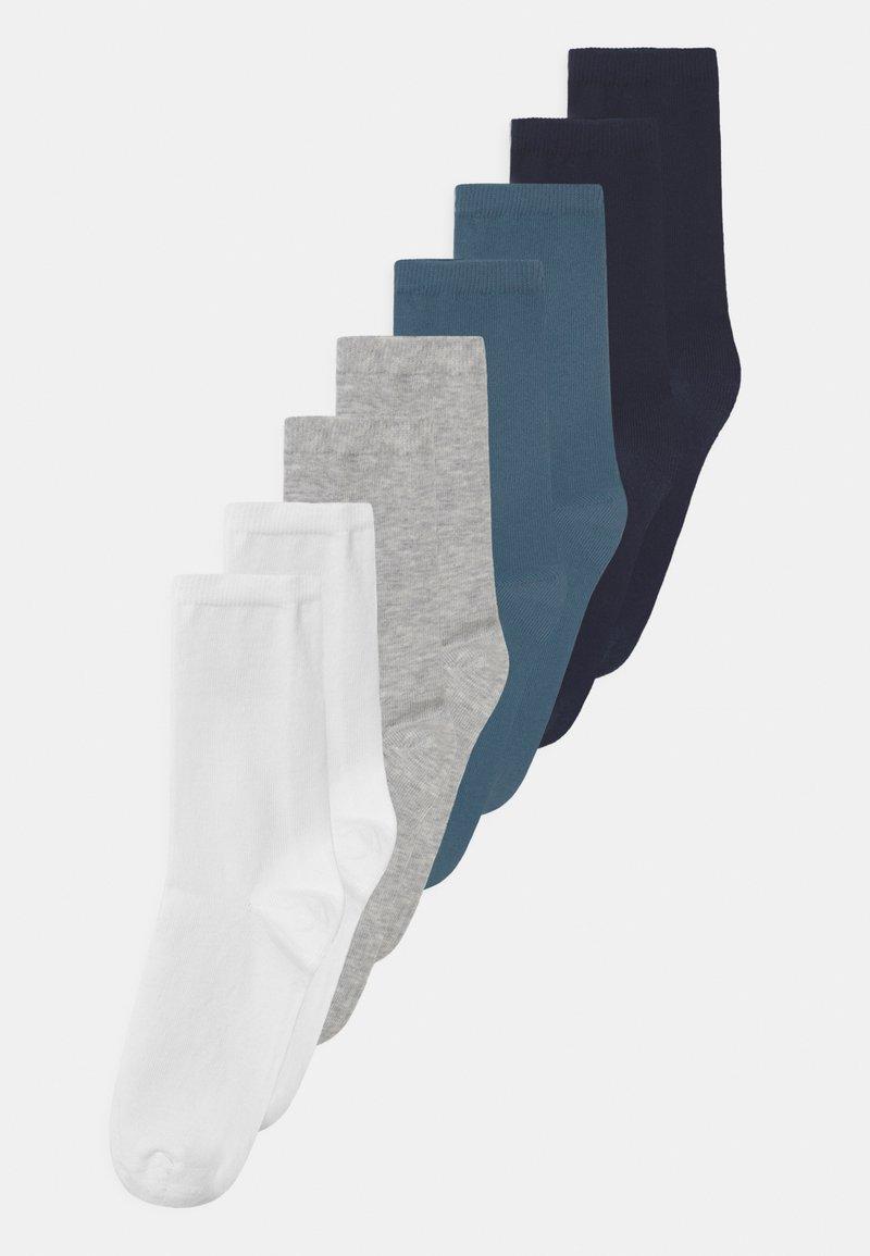Name it - NKMFAX 8 PACK - Socks - light grey melange
