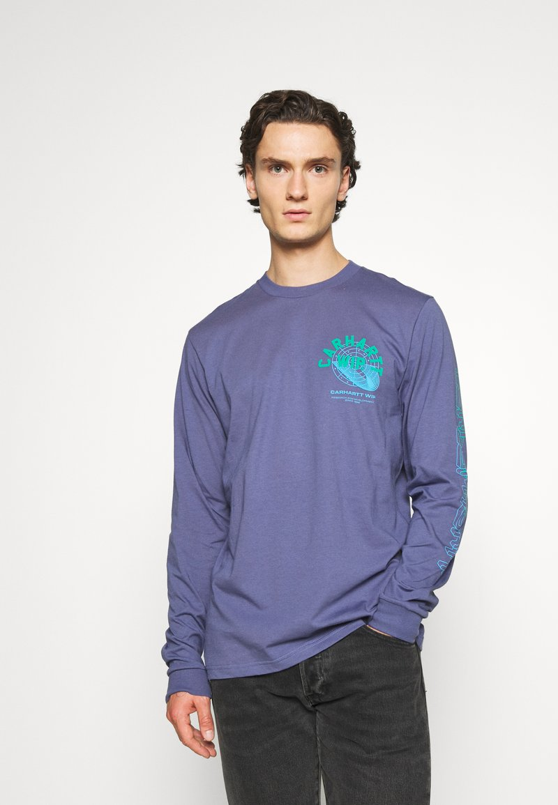 Carhartt WIP - REMIX - Long sleeved top - cold viola