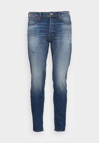 JJIFRED JJORIGINAL  - Straight leg jeans - blue denim