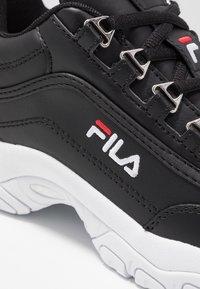 Fila - STRADA - Sneaker low - black - 2