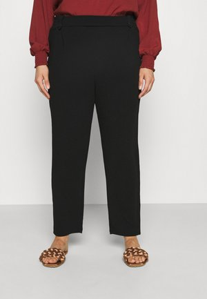 CARBETTY ANKEL SMOCK PANT - Kalhoty - black