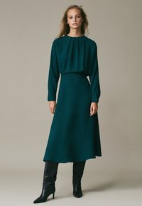 Massimo Dutti - Cocktail dress / Party dress - green - 5